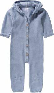 Baby Strickoverall hellblau Gr. 68 Jungen Baby