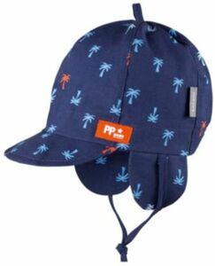 Schirmmütze mit UV-Schutz , Organic Cotton dunkelblau Gr. 51 Jungen Kleinkinder