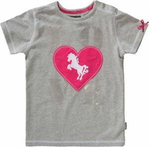 T-Shirt NOLA grau Gr. 122 Mädchen Kinder