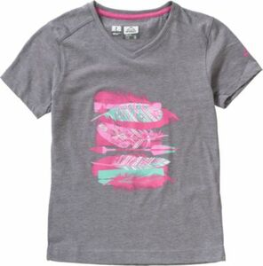 T-Shirt ZABA grau Gr. 110 Mädchen Kleinkinder