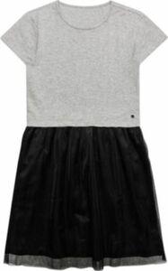 Kinder Kleid silber Gr. 128/134 Mädchen Kinder