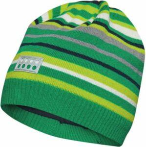Kinder Mütze grün Gr. 52
