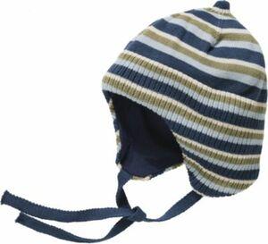 Erstlingsmütze NBMMOGENS dark blue denim Gr. 45-47 Jungen Baby