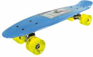 PP Skateboard blau