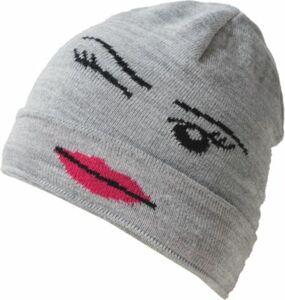 Mütze grau Gr. 52 Mädchen Kinder