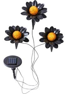 """Solar Leuchte """"Flower"""" 3er-Set"""