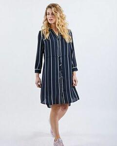 Selected SLFDAMINA AOP DRESS - Damen