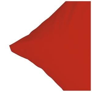 Microfaser-Zierkissenbezug (40x40, rot)