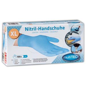 Multitec Nitril-Einweghandschuhe 50er-Pack