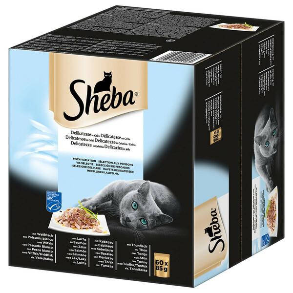 Sheba Portionsbeutel Delikatesse in Gelee Multipack