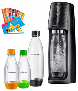 Sodastream Easy Pack, schwarz