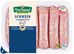 K-PURLAND  grobe Bratwurst
