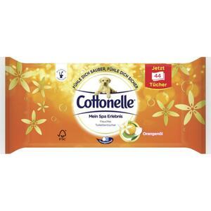 Cottonelle Mein Spa Erlebnis feuchte Toilettentücher Orangenöl