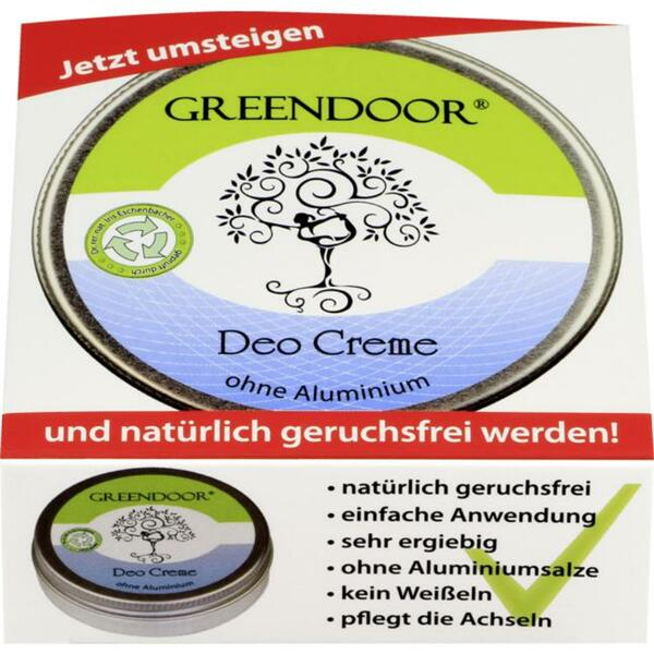 GREENDOOR Deo Creme 15.90 EUR/100 ml