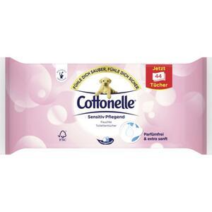 Cottonelle Sensitiv Pflegend feuchte Toilettentücher parfümfrei