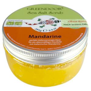 GREENDOOR Sea-Salt Scrub Mandarine 30.32 EUR/1 kg