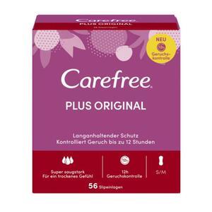 Carefree Slipeinlagen Plus Original S/M