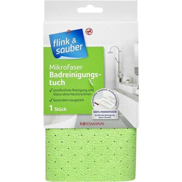 flink & sauber Mikrofaser Badreinigungstuch
