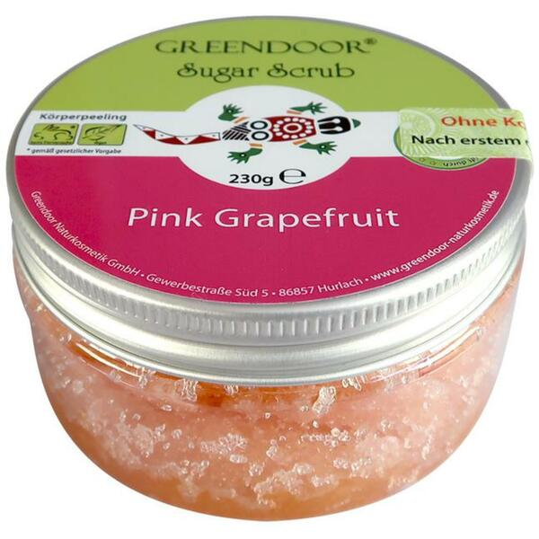 GREENDOOR Sugar Scrub Pink Grapefruit 3.69 EUR/100 g