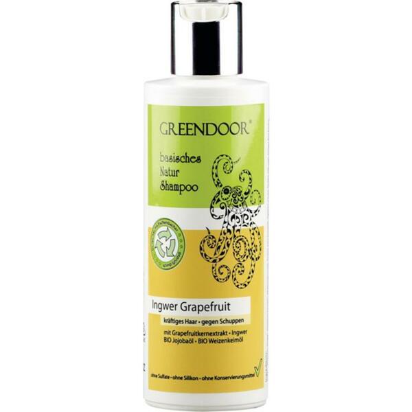 GREENDOOR basisches Natur Shampoo Ingwer Grapefruit 4.48 EUR/100 ml