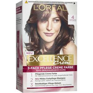 L'Oréal Paris Excellence Creme 4 mittelbraun