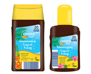 OMBRA sun Sonnenspray oder -milch, Tropical Feeling, LSF 20