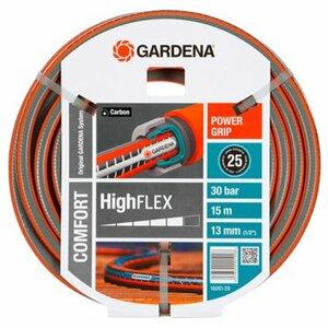 """Gardena Gartenschlauch Comfort HighFlex 13 mm (1/2"""") 15 m mit PowerGrip 30 bar"""