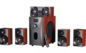 auvisio Holzoptik 5.1 Surround-Sound-System