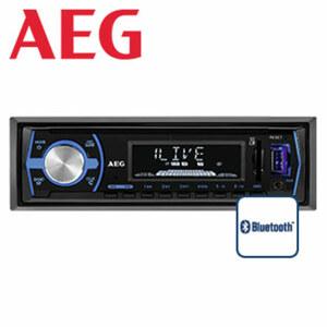 Autoradio AR 4030 mit integr. Bluetooth®-Freisprecheinrichtung • LCD-Display • UKW-Radio mit RDS • Aux-/USB-Anschluss, SD-Kartenslot