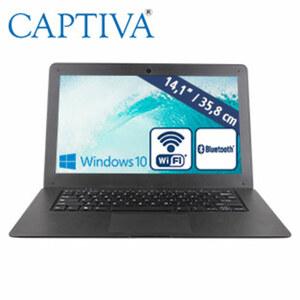 Notebook 14.1 · WVA-Display · Intel® Atom Quad-Core x5-Z8350 (bis zu 1,44 GHz) · Intel® HD Graphics (Gen 8) · USB 2.0, mini HDMI