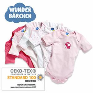 Baby-Bodys Kurzarm, 5er-Pack oder Langarm, 4er-Pack, Größe: 50/56 - 86/92
