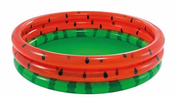 Intex - Pool 3-Ring Wassermelone, 168x41x53 cm