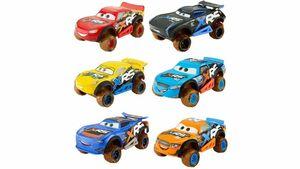 Mattel - Disney Cars 3 Xtreme Racing Serie Schlammrennen Fahrzeug, 1 Stück, sortiert