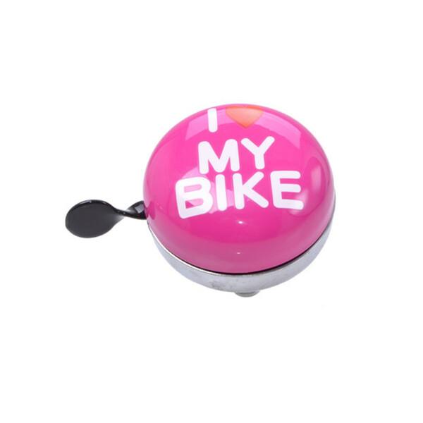 "Fahrradglocke Ding Dong Maxi ""I love my Bike"""