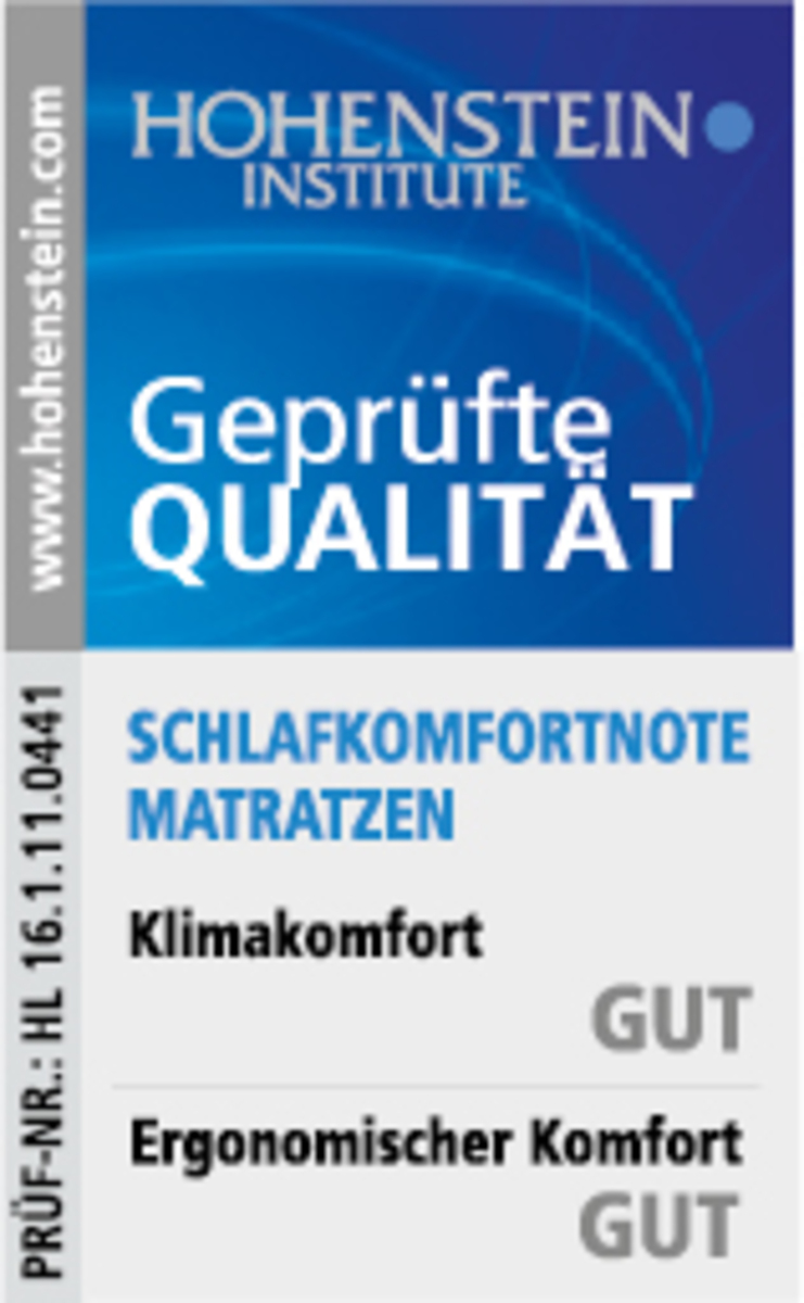 Bild 3 von fan 7-Zonen-Ortho-cel®-Kaltschaumkern-Matratze H3, 090x200 cm, mit Belüftungsband