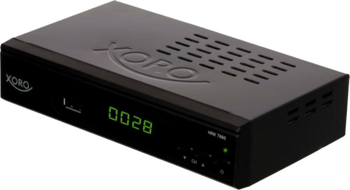 Bild 2 von XORO HD DVB-C Receiver HRK 7660, H.264 HDTV, MPEG-4 AVC/AVCHD, Farbe: Schwarz