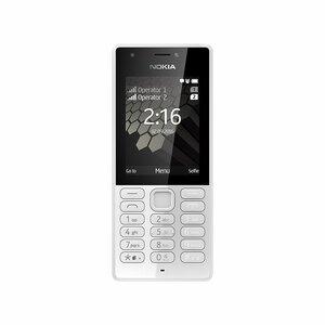 Nokia Kamerahandy 216, DualSIM, Farbe: Weiß