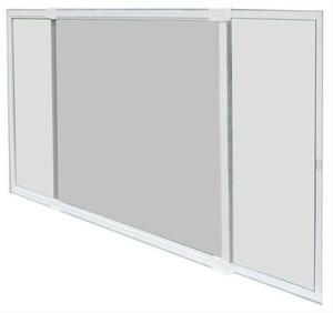 Fliegengitter Schiebefenster Schellenberg 50x75-142cm weiß