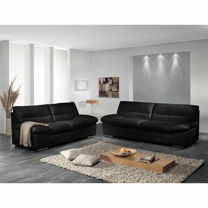 home24 Sofa Doug (2-Sitzer) Echtleder