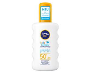 NIVEA SUN Sonnenspray Kids Sensitiv, LSF 50