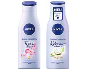 NIVEA Sensual Pflegelotion
