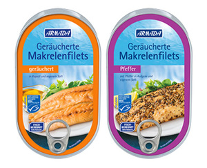 ARMADA Geräucherte Makrelenfilets