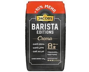 JACOBS XXL-Barista Editions, ganze Bohne