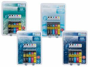UNITED OFFICE® Druckerpatronen-Multipack, für Epson