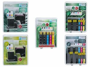 UNITED OFFICE® Druckerpatronen-Multipack, für HP