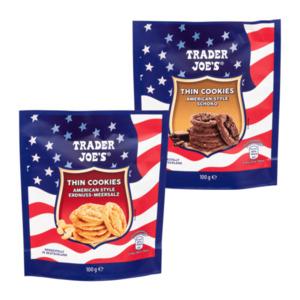 TRADER JOE'S     Thin Cookies