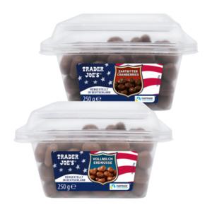 TRADER JOE'S     Zartbitter Cranberries / Vollmilch Erdnüsse