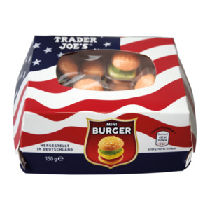 TRADER JOE'S     Mini Burger