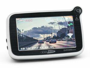 Caliber 2.0mp Dashcam mit G-Sensor und GPS und Rückkamera DVR225DUAL