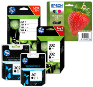 EPSON oder HP Druckerpatronen